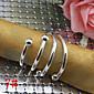 6 Iron Rectangular Napkin Ring