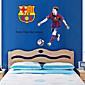 zidne naljepnice zidne naljepnice, uzbudljive nogometne Andres Messi pvc zidne naljepnice
