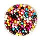 beadia 100g (cca 1000ks) abs perle 6mm kolo smíšené barevné plastové volné korálky pro hobby výrobu šperků
