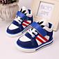Schoenen van de baby - Zwart / Blauw - Buiten / Casual - Leer / Weefsel - Modieuze sneakers