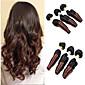 Lidské vlasy Vazby Brazilské vlasy Vlnitá 3 kusy Vazby na vlasy