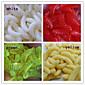 200 kom Soft Bait / Csali Soft Bait Izabrane boje 0.4 g Unca mm palac,Silicon Mamac Casting / Ribolovni mamac / Općenito Ribolov