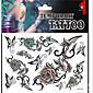1 Tetovací nálepky Ostatní Non Toxic Vzor Glitter Spodní část zad VánoceMiminko Dítě Dámské Pánské Dospívající Flash Tattoodočasné