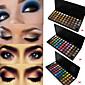 55 Colors Lidschattenpalette Matt / Schimmer Lidschatten-Palette Puder Set Smokey Makeup / Party Make-up / Halloween Make-up