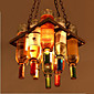 40W Lusteri ,  Traditional/Classic / Rustic/Lodge / Vintage / Retro / Zemlja Electroplated svojstvo for Mini Style MetalLiving Room /