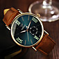Muškarci Ručni satovi s mehanizmom za navijanje Kvarc Koža Grupa Smeđa Brand-