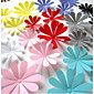 Botanical Wall Stickers 3D Wall Stickers , PVC 11cm、9cm、8cm