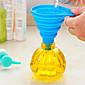 odličan praktičan kuhinja alat gel gadget silikon sklopivi lijevak (Random boja)