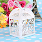 50pcs / lotはレーザーカット鳥の結婚式は、キャンディボックスお菓子の箱ベビーシャワーのギフトの装飾用品を好みます