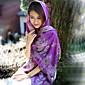 Žena Vintage / Roztomilý / Na běžné nošení Bavlna Šátek,Obdélníkový Tisk