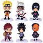 Naruto Monkey D. Luffy PVC Anime Čísla akce Stavebnice Doll Toy