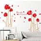 květiny Samolepky na zeď Samolepky na stěnu,PVC 60X90X0.1