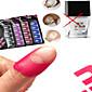 1ks nail art barevné samolepky, aby se zabránilo přetečení laku na nehty Nail Art kosmetické nástroje FY01