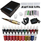 solong tetovaža trajna šminka kit tetovaža olovka za obrve usne uređaj postavljen 23 šminkanje boje ek707-4