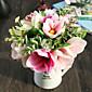 hedvábné magnolie umělé květiny vícebarevný volitelně 1ks / set