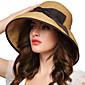 Žene Slamnati šešir-Vintage / Zabava / Posao / Ležerne prilike-Proljeće / Ljeto / Jesen / Sva doba,Slama