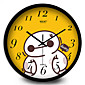 円形 コンテンポラリー 壁時計,その他 メタル 30*30*7