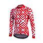 Fastcute® Biciklistička majica Žene / Muškarci / Dječji / Uniseks Dugi rukav BiciklProzračnost / Quick dry / Prednji Zipper / YKK patent