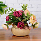 11 11 Podružnica Svila Roses Cvjeće za stol Umjetna Cvijeće 16CM