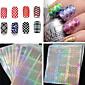 1PCS Nail Art samolepka Diecut Manikúra šablony make-up Kosmetické Nail Art design