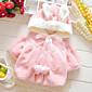 Djevojka je Zima / Proljeće / Jesen Ležerno/za svaki dan-Jednobojni-Rabbit Fur-Zima / Proljeće / Jesen-Ružičasta / Bijela