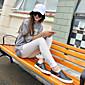 Žene Legging-Jedna boja Pamuk