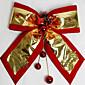 Božićni ukrasi Božićni domjenak dodaci crveni rub platine Sretan Božić bowknot 30 * 35mm