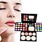 Rumenila+Sjenila+Ruževi Suha Eyes Lice Lips Boji sjaj Izbjeljivanje Dugo trajanje Korektor Nejednak ton kože Prirodno Smanjenje pora #