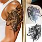 1 Tetovací nálepky Zvířecí řada Totemová řada Waterproof 3-DPánské Dospívající Flash Tattoo dočasné tetování