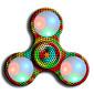 Fidget spinners hand Spinner Hračky Ring Spinner LED Spinner ABS EDCStres a úzkost Relief Office Desk Toys k zabíjení času Focus Toy