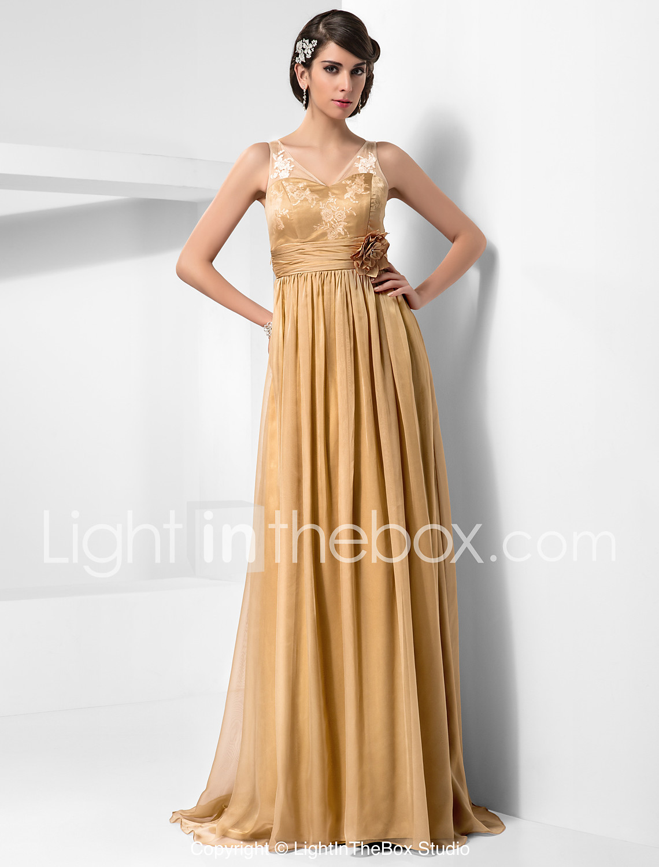 Vestido de festa de 15 anos dourado