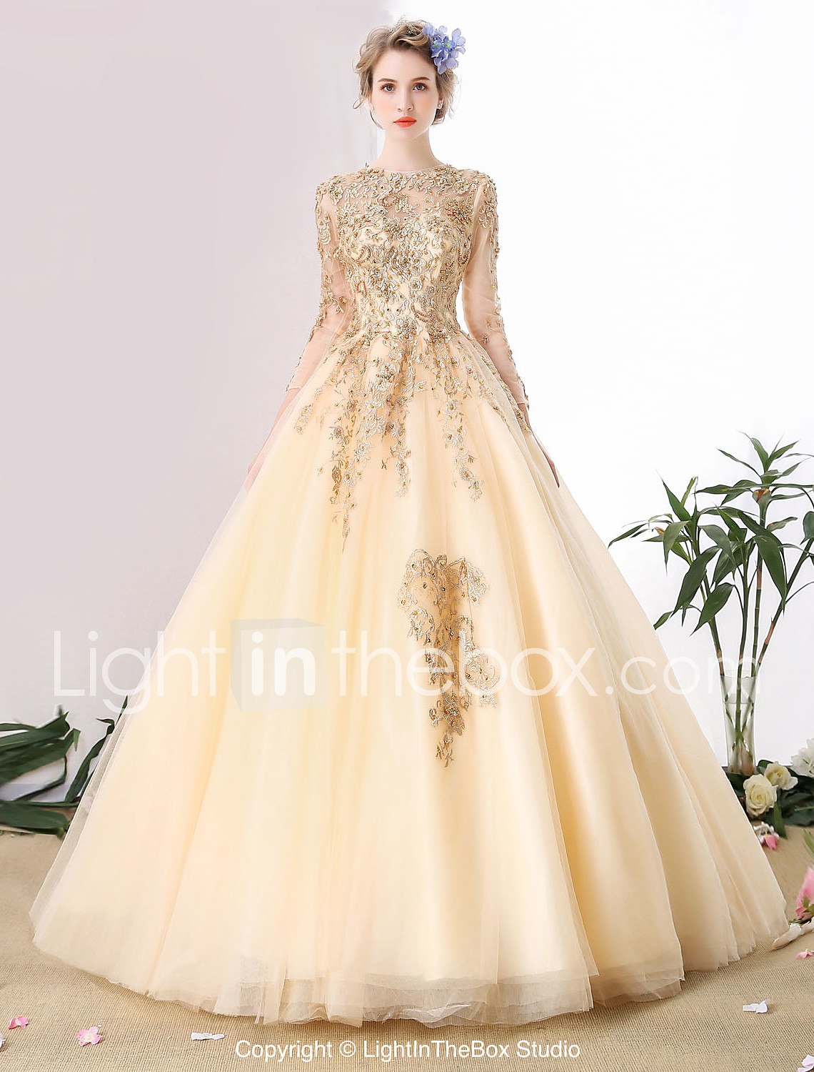 ball gown wedding dresses colorful wedding dresses Ball Gown Wedding Dress Wedding Dress in Color Cathedral Train Scoop Tulle with Beading Lace